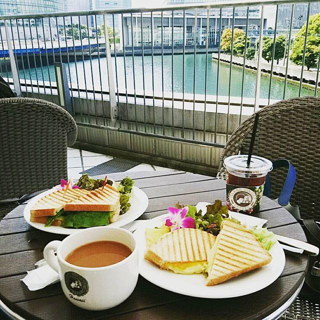 お早うございます今朝はいつもの逆サイドから#islandcoffee #lifeofkaren#casualandluxe #lifeinyokohama#yokohamalifestyle #暮らしを楽しむ - from Instagram