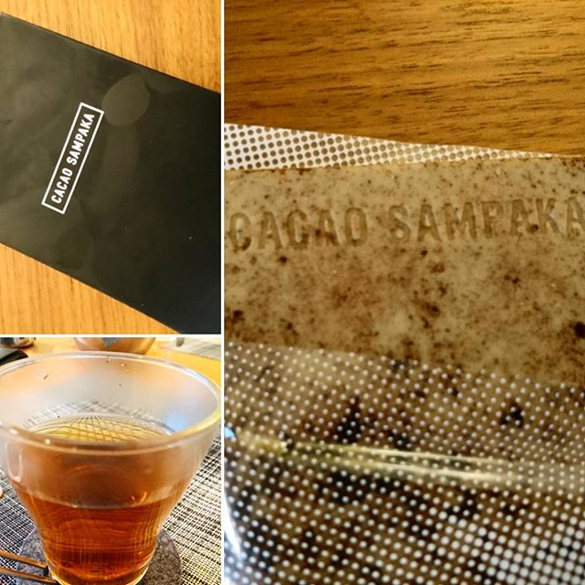 食後に#cacaosampaka のチョコレートを#金沢棒茶 と一緒に#lifeinyokohama #casualandluxe #yokohamalifestyle#lifeofkaren #暮らしを楽しむ - from Instagram