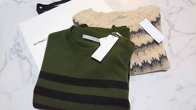 #vince. で#カシミヤニット を冬はUNIQLOカシミヤもが着ますが少し変わったデザインも欲しいので#lifeofkaren #casualandluxe #yokohamalifestyle#lifeinyokohama#暮らしを楽しむ - from Instagram